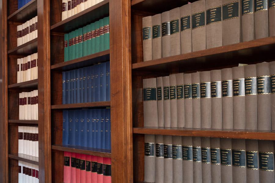 Particolare libreria